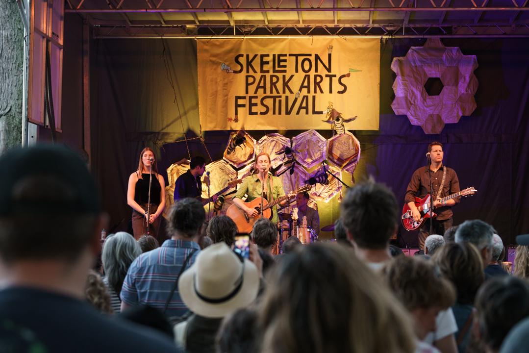 Skeleton Park Arts Festival Harmer Stage