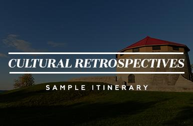 Cultural Retrospectives - Sample Itinerary