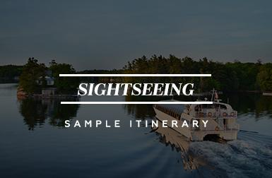 Sightseeing - Sample Itinerary