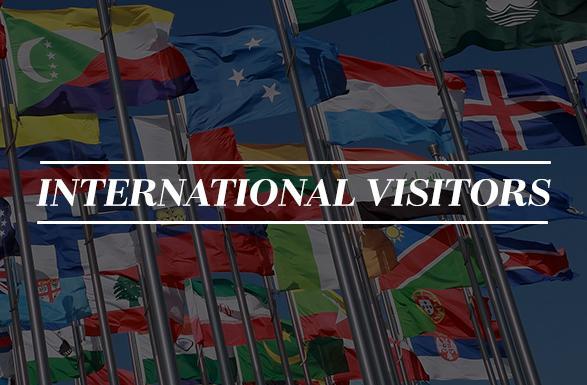 International Visitors