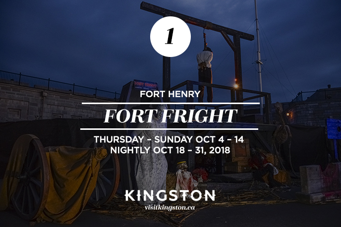 Fort Fright at Fort Henry