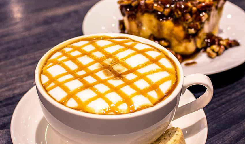 Crave Coffee House macchiato