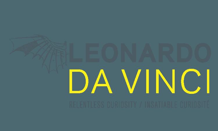 Leonardo da Vinci Relentless Curiosity exhibit at the PumpHouse